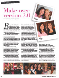 ABULOUSLY FEMININE - Make-overs by Anel du Toit and Kotie Potgieter!